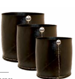 Tadé cache pot rubber  recht mal dia 20 x H20 cm