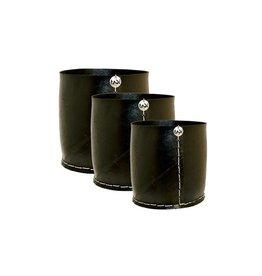 Tadé cache pot rubber recht model medium 25x H25