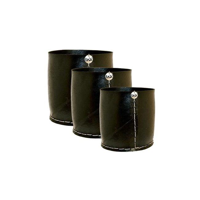 cache pot rubber recht model medium 25x H25
