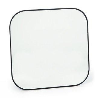 Spiegel zwart vierkant 40x40