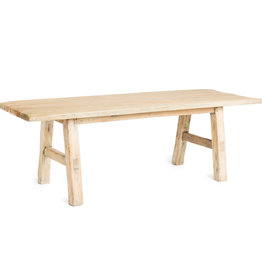 Simla Salontafel wood natural 120x40xH40 cm