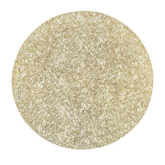 Placemat wiring goud 39 cm