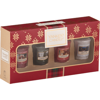 Yankee Candle Alpine Christmas 4 votives