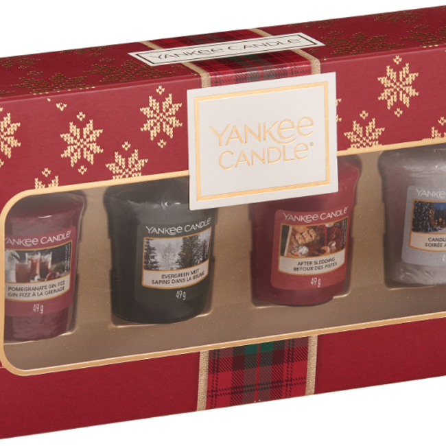 Yankee Candle Alpine Christmas 4 votives