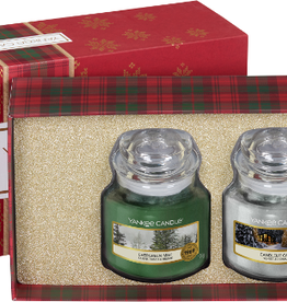 Yankee Candle Alpine christmas 3 small jars