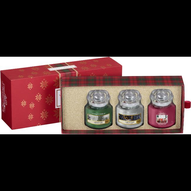 Yankee Candle Alpine christmas 3 small jars