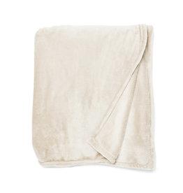 Simla plaid pearl flannel polyester 130x170