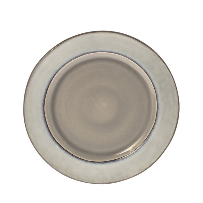 Ontbijtbord Metz soft grey  22 cm