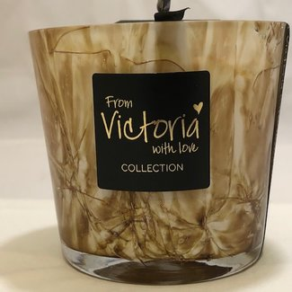 From Victoria with love Victoria marble brown smal