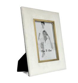 Fotokader 13x18 velvet white