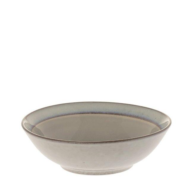 Schaal Metz soft grey 19 cm