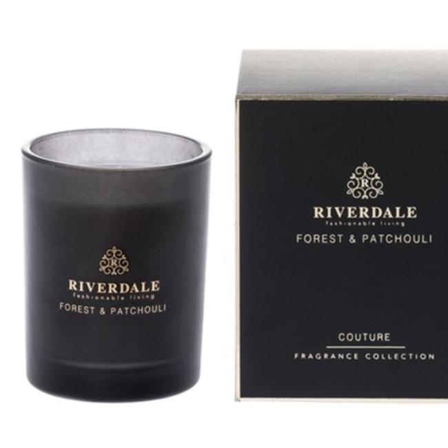 Riverdale Geurkaars Couture zwart 10 cm