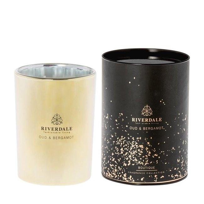 Riverdale Geurkaars Boutique goud 15 cm