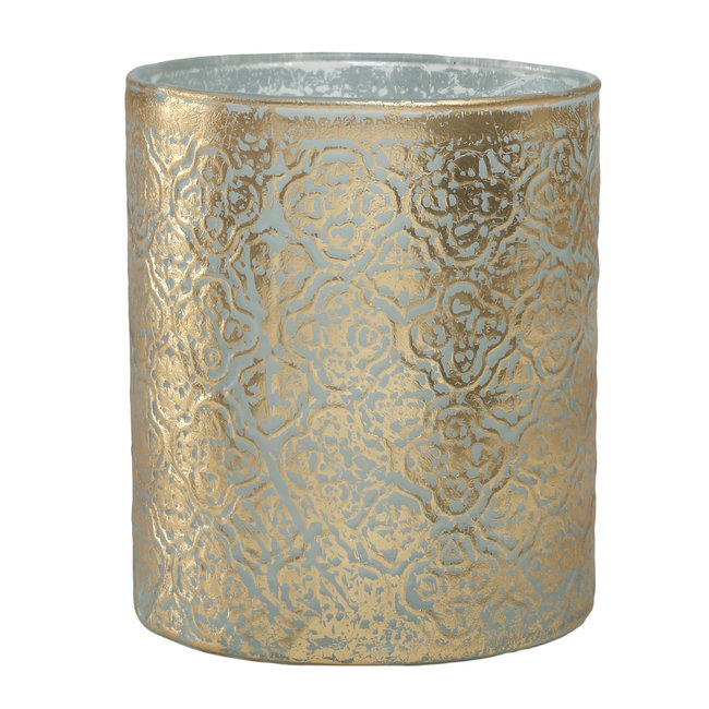 Moana white gold Glass Stormlight straight round S