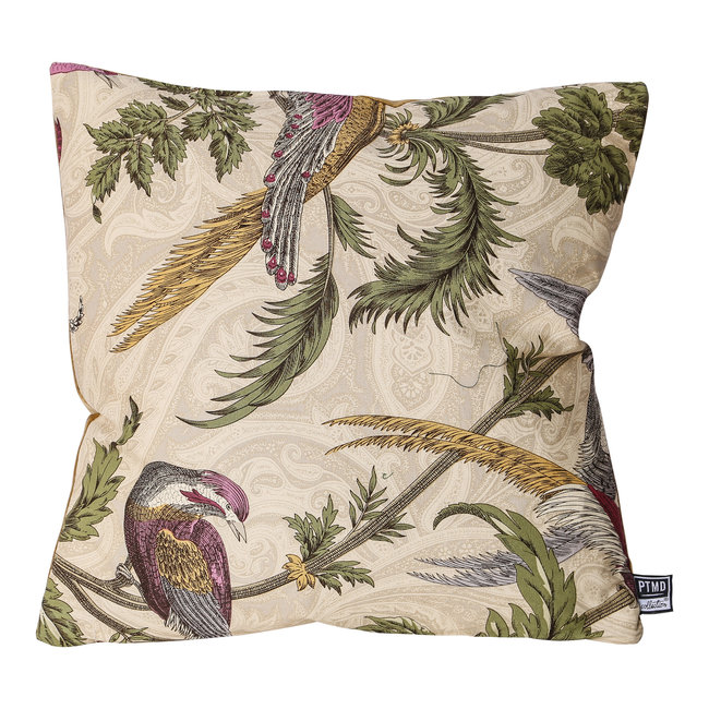 PTMD Vanessa mixed color Art deco cushion