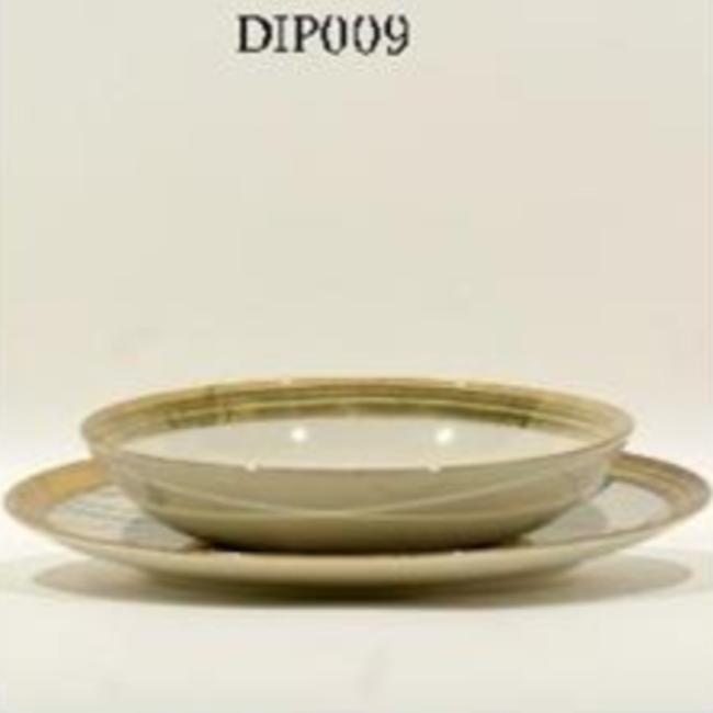 Diep bord gold 20,5 cm