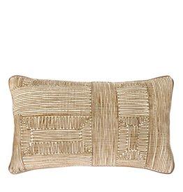 Riverdale Kussen stripe olijf 30x50 cm
