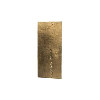 Dekocandle Wall art plate brass antique