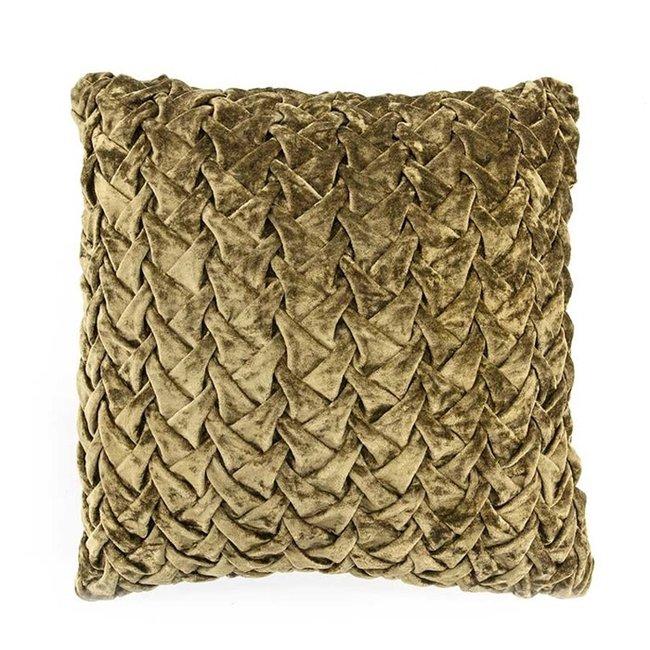 Pillow allen 45x45 green