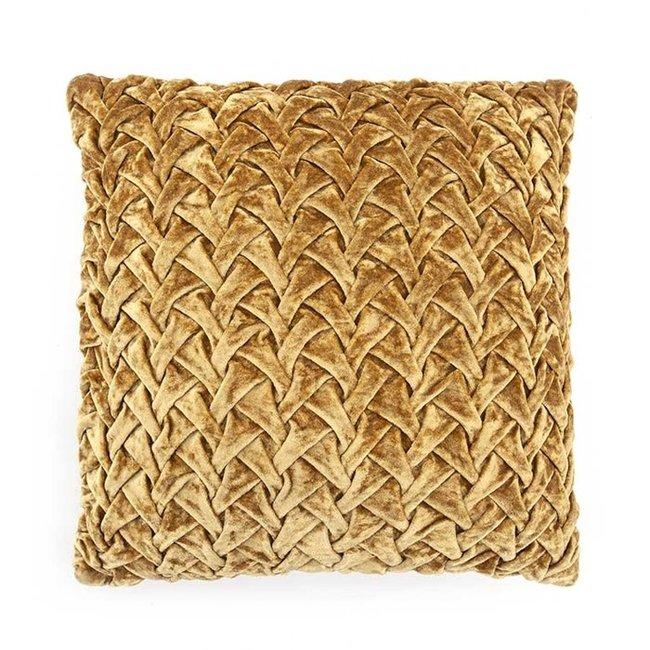 Pillow allen 45x45cm/yellow