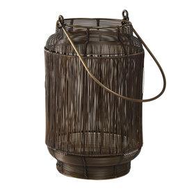 PTMD Neill brass Antique iron lantern