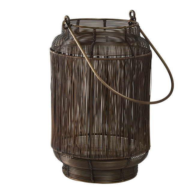 Neill brass Antique iron lantern