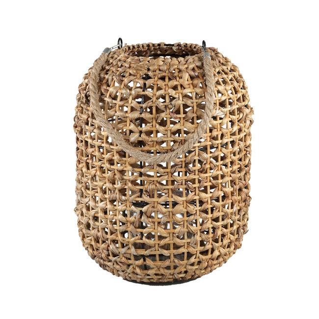 Penn natural reed lantern rope handle round l