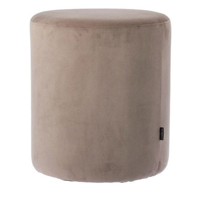 Poef Chelsea grey 50 cm