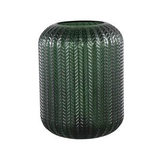 PTMD larson green glass table lamp motive