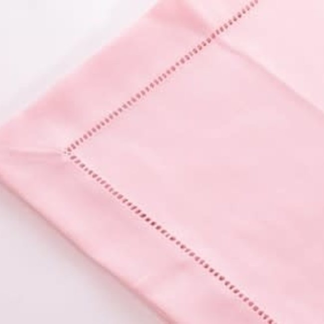 Tablecover polyvis pastel pink with hemtitch 170x350 cm