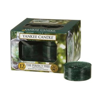 Yankee Candle The perfect tree tea lights 12 st