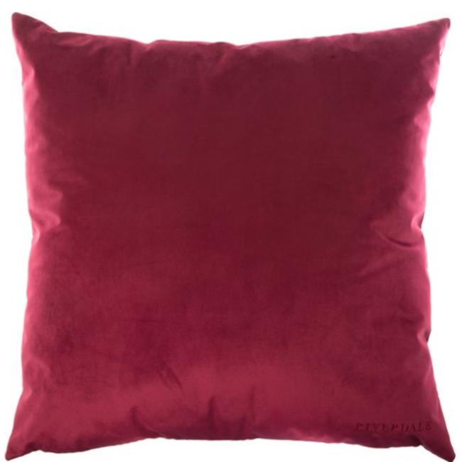 Kussen Chelsea burgundy 60x60
