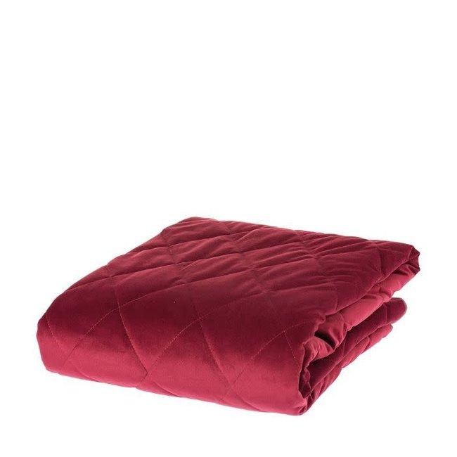 Plaid burgundy 130x170 AB