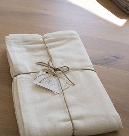 Simla Tafelkleed katoen gebroken wit 150x250cm