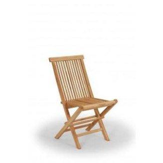 klassiek vouwstoel zonder armleuning