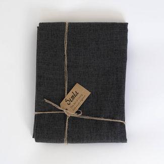 Simla Tafelkleed antraciet polyester