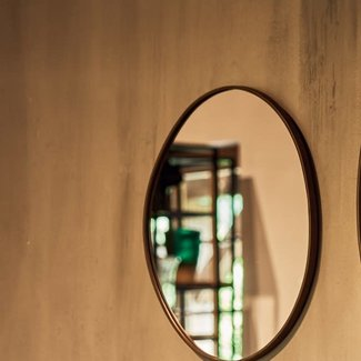 JF The Reborn Home Mirror brons rond 45x2x50
