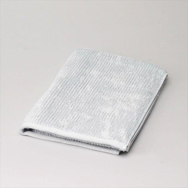 badhanddoek katoen  licht grijs 50x100