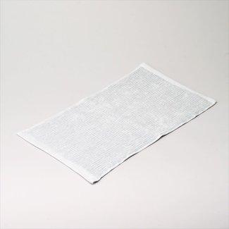 Simla badhanddoek katoen light grey 30x50 cm