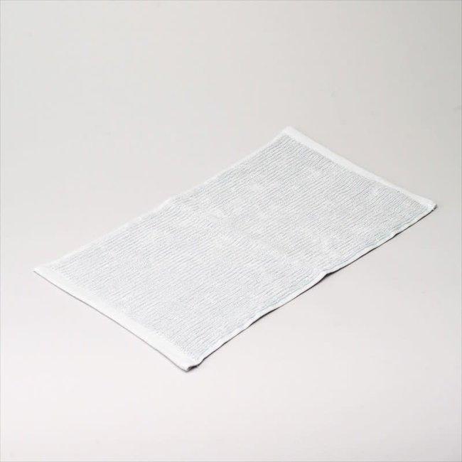 badhanddoek katoen light grey 30x50 cm
