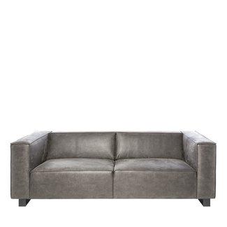 Riverdale Bank 3 zits bold grijs 238cm