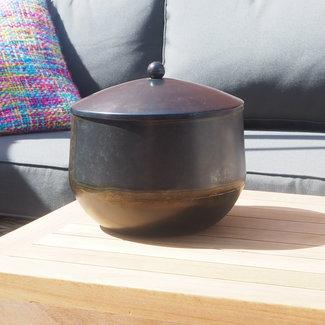 Bowl black antique small