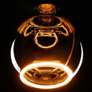 Segula led floating globe 125 smokey 2200 K-8W-CRI+90