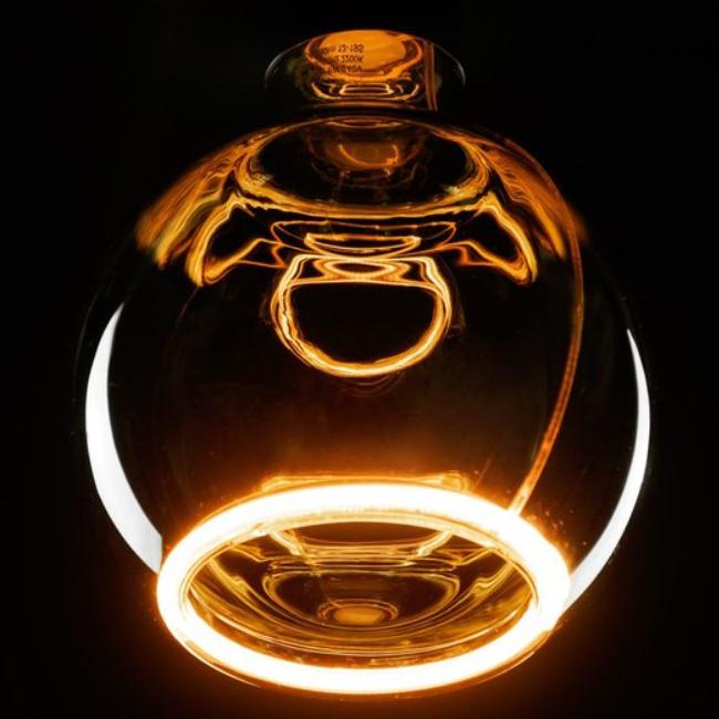 led floating globe 125 smokey 2200 K-8W-CRI+90