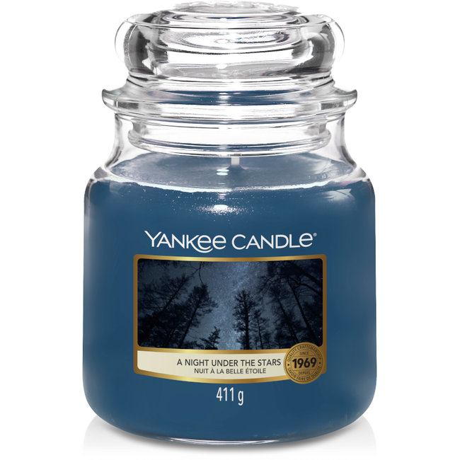 Yankee Candle A Night under the stars medium jar