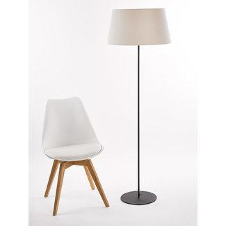 Marckdael Floorlamp 2806 P1 round H 133 base black 30 cm