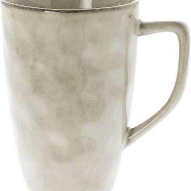 Mok Metz vintage beige 10 cm