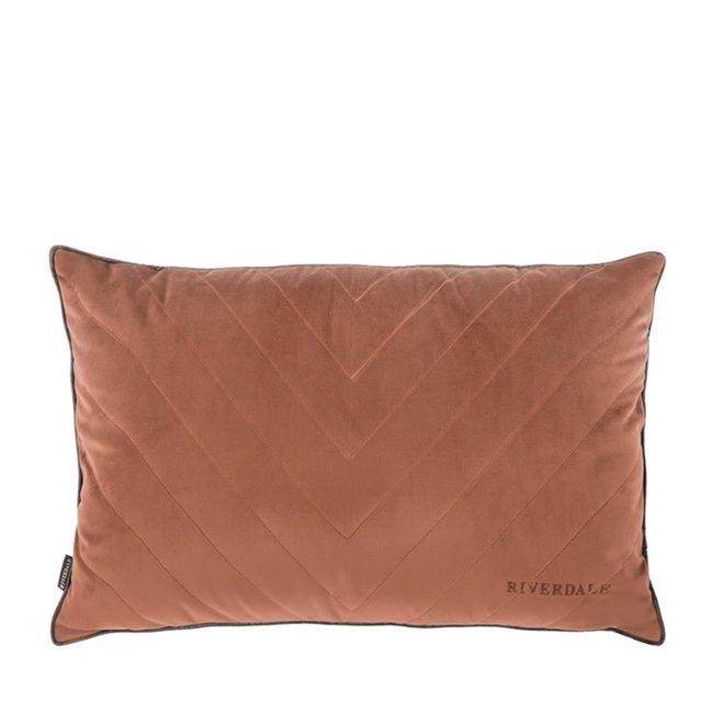 Kussen Hope bruin 40x60 cm