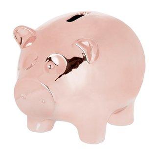 Riverdale Spaarvarken Kiki rosé goud 26 cm