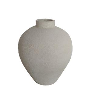 Simla Vaas terracotta beige dia 34 H40 cm